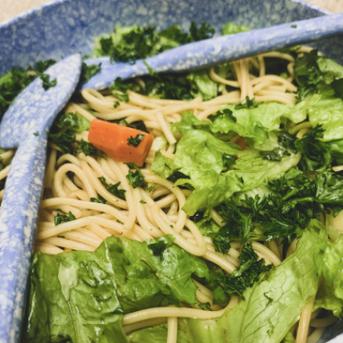 Green Thai Spaghetti