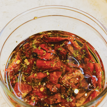 Easy Sun-Dried Tomatoes Pickle