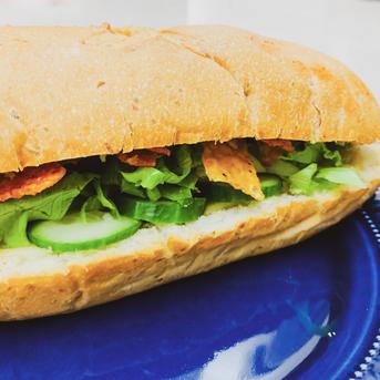 Guacamole Nachos Sandwiches