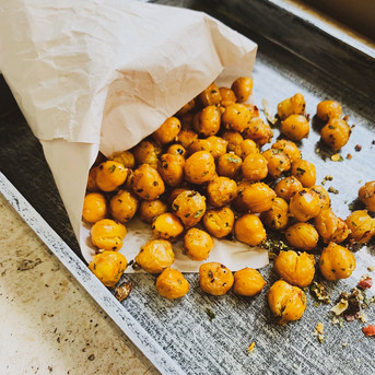 Herby Baked Chickpeas