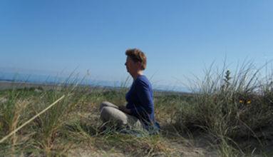 mediteren in de duinen