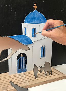 DIY metal painting kit