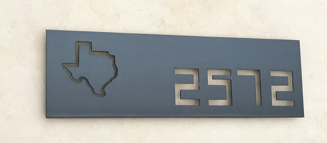 Custom Address Sign The Geek texas.jpg