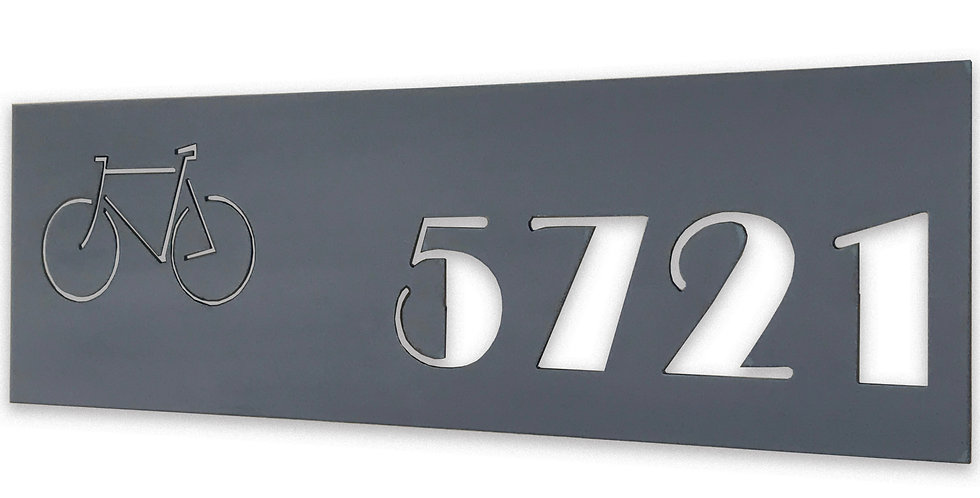 Address Sign- The Broadway