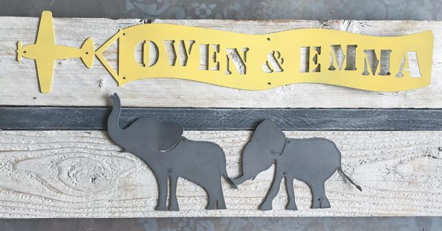 custom elephant art