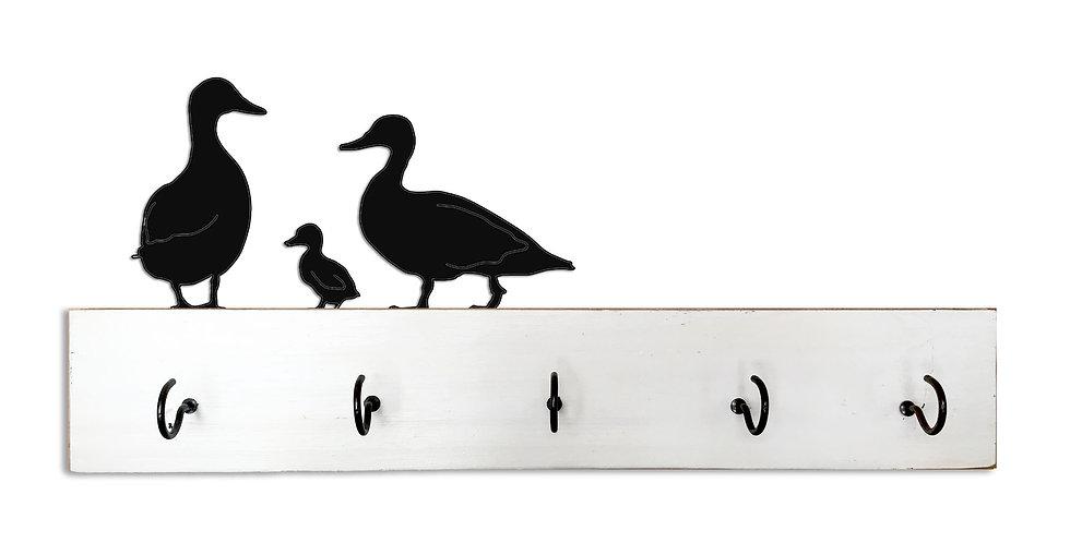Family of Ducks Key Holder