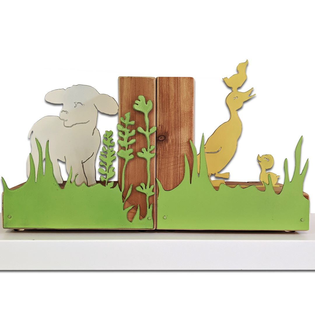 Farm Bookends