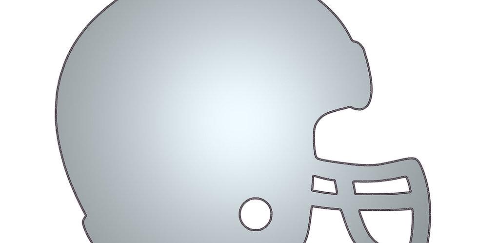 The footballer metal shapes