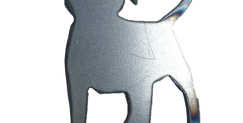 Puppy metal shapes