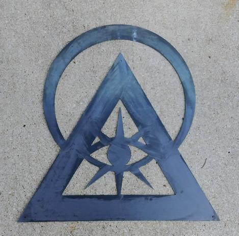 Custom illuminati sign