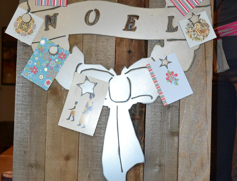Wreath Card Holder