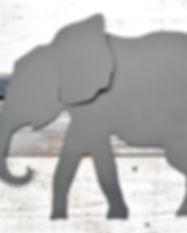 Parade of Elephants Nursery decor