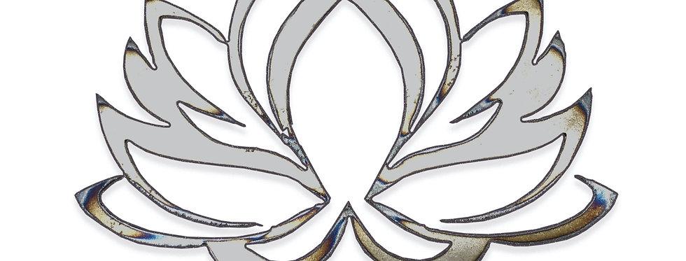 Elegant lotus metal shapes