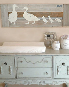 Family of Duck nursery art