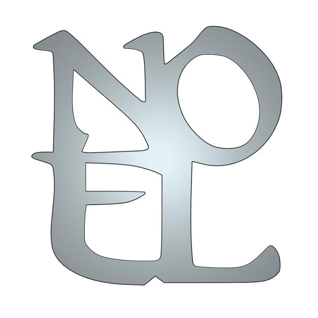 noel metal shape