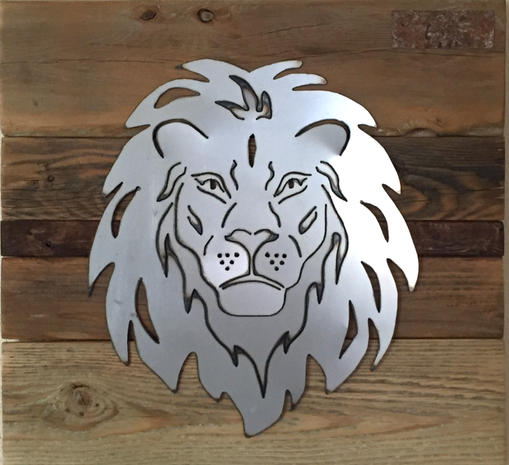 Lion Head trophy