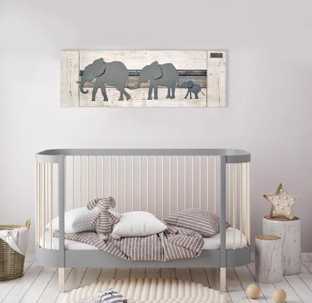 Parade of elephant