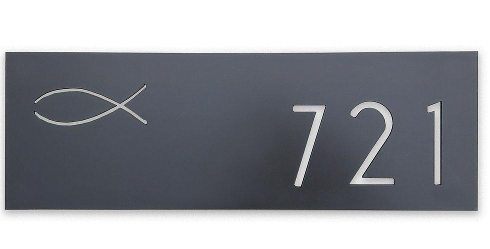 Address Sign- The Urban