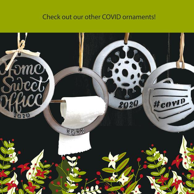 COVID ornaments