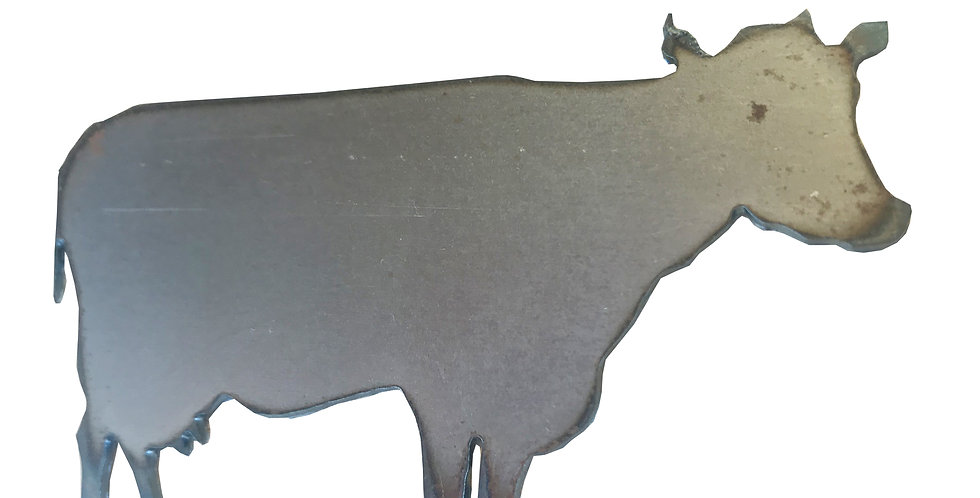 Cow metal shapes
