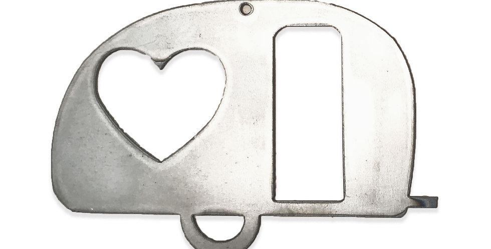 Caravan metal shapes