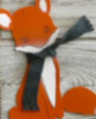 Fox woodland decor