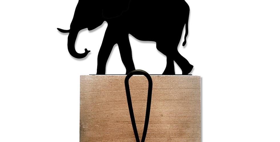 Elephant Coat Rack Single Hook