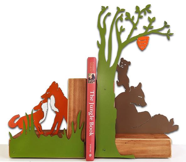 Woodlands Bookends