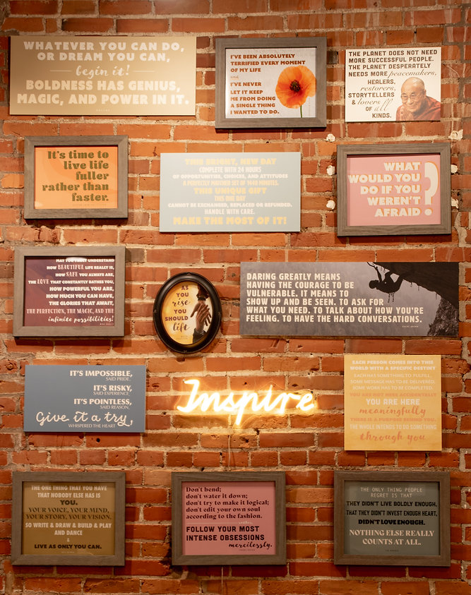 The Inspire Wall