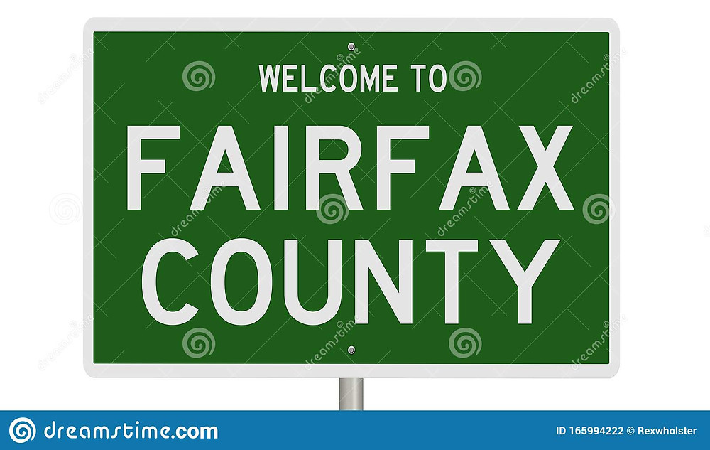 Fairfax County bankruptcy welcome sign
