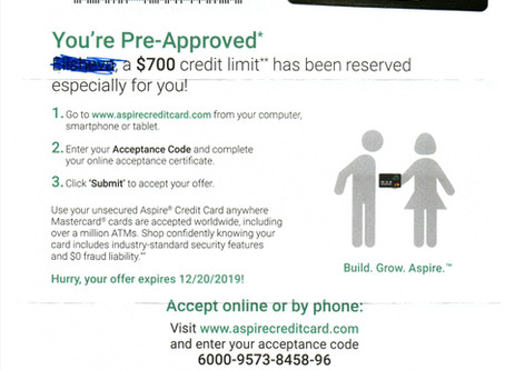 New credit approvals quicker than people expect