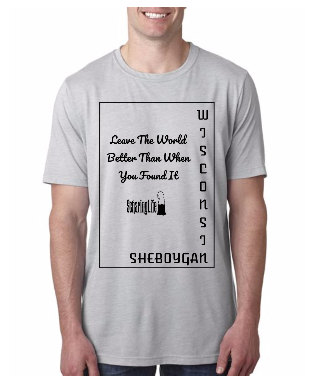 Leave silver short sleeve