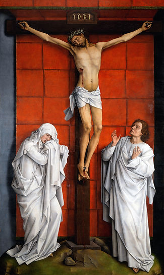 Weyden_Christ_on_the_Cross_with_Mary_and