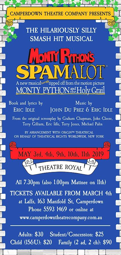 Spamalot DL Flyer.png