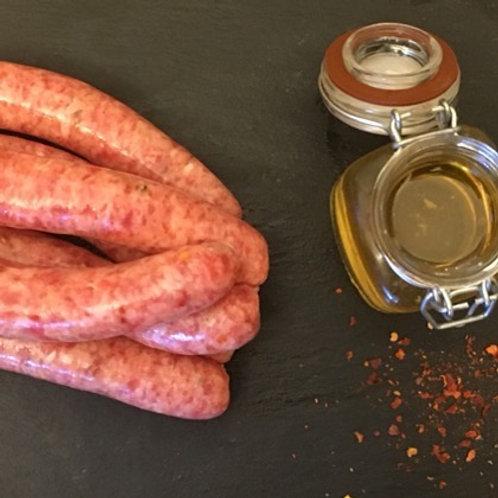 Honey & Chilli Pork Sausages