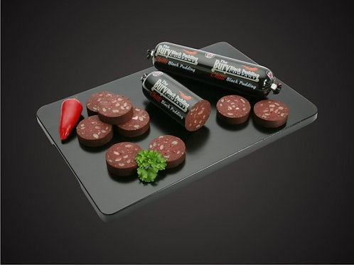 Chilli Bury Black Pudding 220g Stick