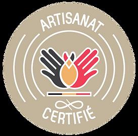 Logo artisant belge certifié