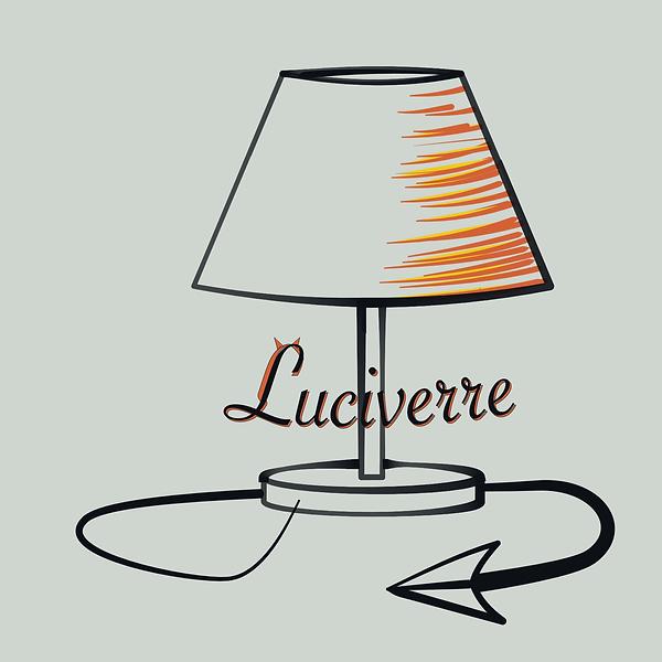 Luciverre Vitrail Lampe artisanat