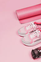 yoga-mat-sport-shoes-bottle-water-pink.j