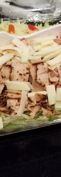 Peppered Turkey Salad