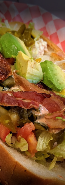 Tuna and Avocado Sandwich