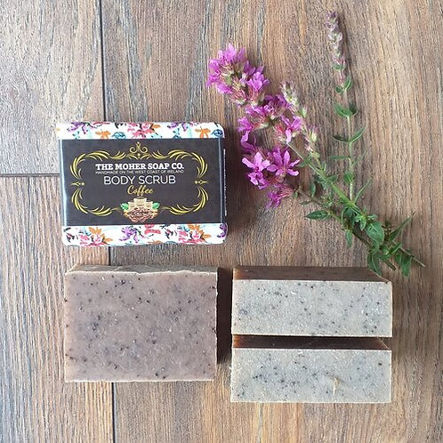 The Moher Soap Co Natural Body Scrub-Coffee