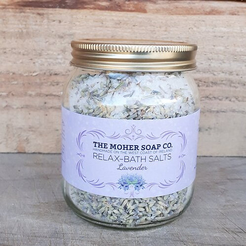 The Moher Soap Co Relax Bath Salts - Lavender