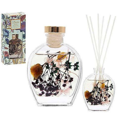 Botanical Diffuser Small Flask-Oud & Bergamot