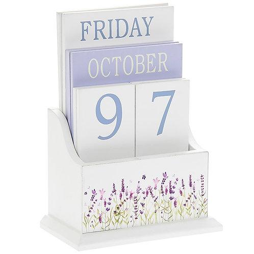 Purple Lavender Calendar