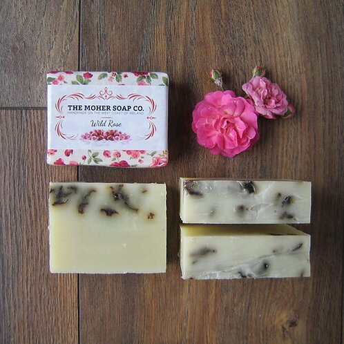 The Moher Soap Co Natural Soap Bar Wild Rose