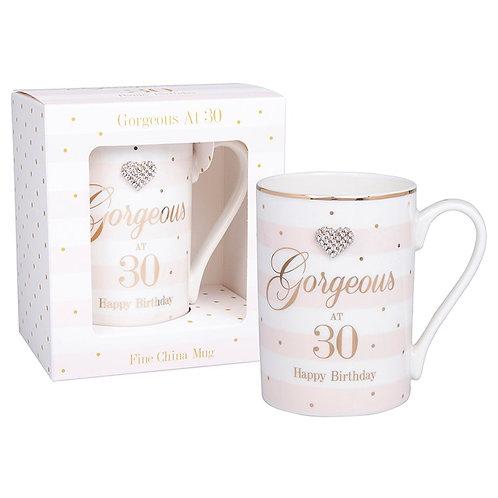 Gorgeous at 30 Birthday Mug