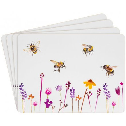Busy Bee Set of 4 placemats