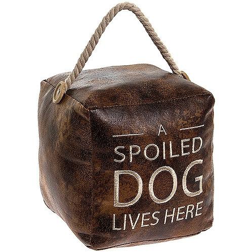 Spoiled Dog Doorstop