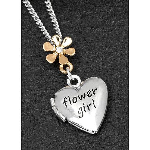 Equilibrium Flower Girl Necklace